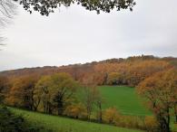 Blick ins Balkhauser Tal bei unserem Aufstieg zur Isenburg