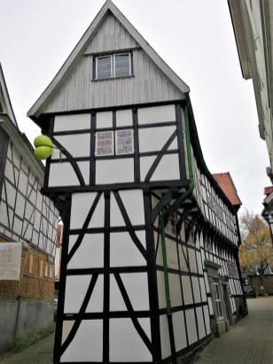 Das schmalste Haus in der Altstadt
