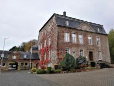 Im Innenhof von Haus Overbach