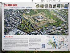 Luftbild der Zitadelle