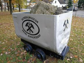 Förderwagen der ehemaligen Grube Günnersdorf