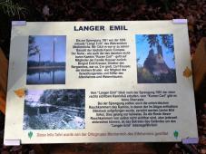 Infotafel am langen Emil