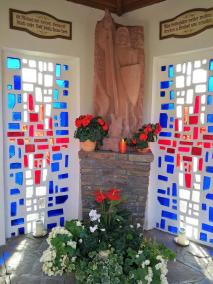 Blick ins Innere der Michaelskapelle