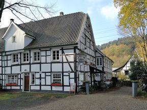 Das Alte Zollhaus bei Wupperhof - leider geschlossen