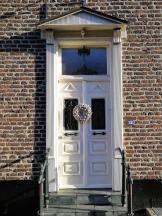 Schöne Haustür in Arcen