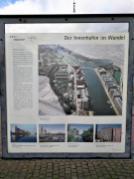 Infotafel am Innenhafen