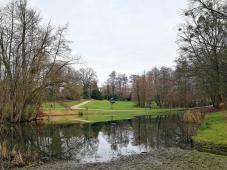 Teich im Stadtpark von Kerkrade