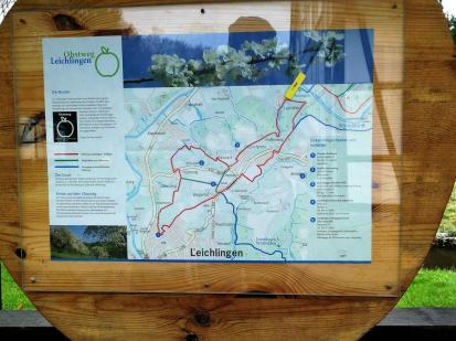 In Leysiefen startet der Leichlinger Obstwanderweg