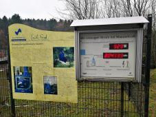 Anzeige der aktuellen Stromerzeugung an der Ronsdorfer Talsparre