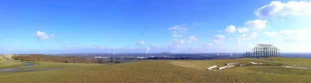 Panoramablick von der Halde