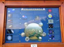 Endpunkt des Galaxienweges an der Martinshütte