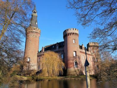 Südwestblick auf das Schloss
