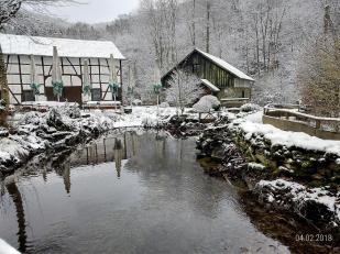 Wirtschaftsgebäude an der Mestrenger Mühle