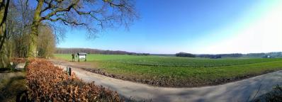 Panoramablick von der Villa-Reichwald Richtung Xanten