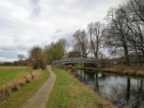 Die Niersbrücke beim Spargeldorf Kessel