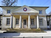 Die alte Wache im Bagno, heute Sitz des Golfclubs Steinfurt, dessen Golfplatz in den Bagno integriert ist