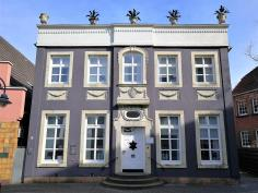 Biedermeier-Haus am Markt von Burgsteinfurt