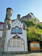 Die Eppsteinger Weinpresse unterhalb der Burg