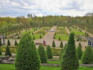 Im Barockgarten des Klosters Kamp
