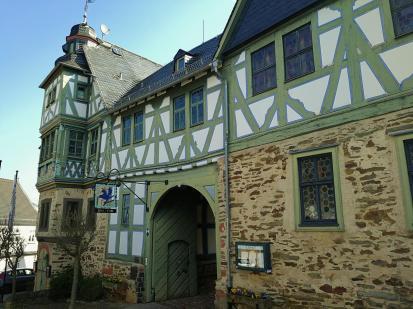 Der Höherhof - einstmals Jagsdschloss und Forstamt, heute Hotel und Restaurant
