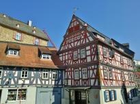 Fachwerkbauten in der Altstadt