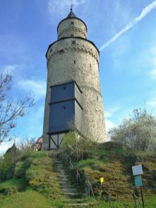 Der Hexenturm ist das älteste noch erhaltene Gebäude der Stadt
