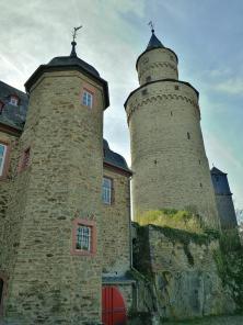 Das alte Amtsgericht auf der Burg neben dem Hexenturm