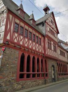 Das historische Rathaus aus dem 15. Jahrhundert
