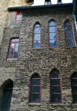 Wohnhaus auf der Burg