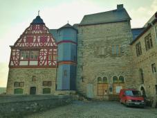 Der aälteste noch erhaltene Teil der Burg auf dem Domberg