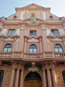 Eingangsbereich des Jüngeren Dalberger Hofes