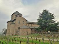 Seitenansicht der Basilika