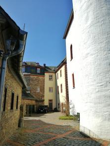 Blick in den eigentlichen Burghof