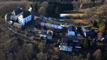 Luftbild der Wildenburg (Foto Wolkenkratzer)
