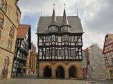 Marktplatz von Alsfeld mit dem historirschen Rathaus