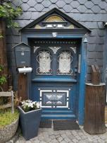 Schöne Tür, wenn auch nicht mittelalterlich
