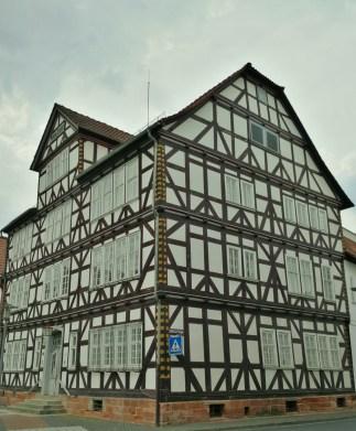 In der Altstadt von Bad Hersfeld