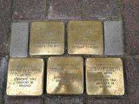 Wie überall in Deutschland: Ermordete Juden.