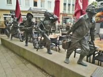 Skulptur auf dem Marktplatz