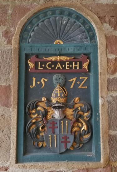 Wappen im Schloss Eichhof