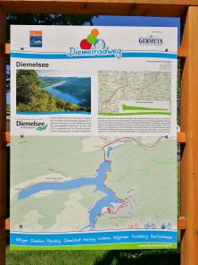 Infotafel an der Tourist-Info in Heringhausen