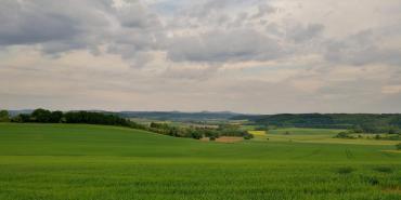 Blick in Richtung der Kasseler Berge