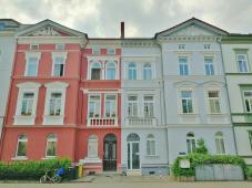 Zwillingshäuser in der Puschkinstraße