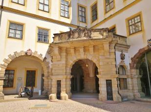 Eingang zum heutigen Scllossmuseum