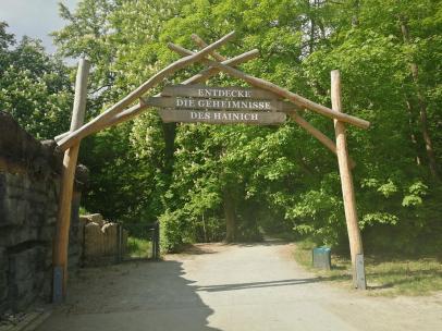 Eingang zum Hainich