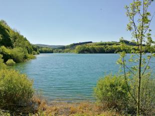 Blick auf den Südteil des Sees