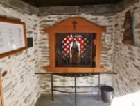 Blick in das Innere der Kapelle