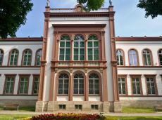 Das Kulturhistorische Museum vom Linenbuhl aus gesehen