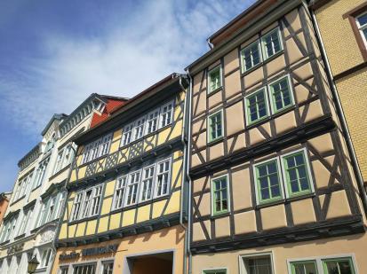 Hüser in der Oberstadt an der Holzstraße