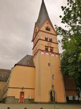 Die Kirche St. Johann Baptis, Frontansicht
